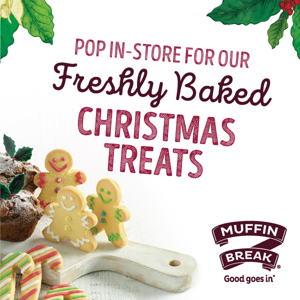 Muffin break has your christmas treats sorted cat and fiddle arcade they have christmas puddings a limited edition turkey stuffin muffin and new mini pudding that would make a great christmas gift for someone or a treat solutioingenieria Choice Image